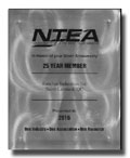 NTEA - 25 Year Member Already !